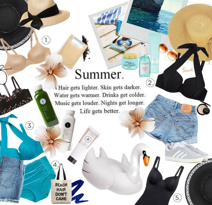 Intimo Lingerie Holiday Gift Guide Polyvore... Spoil yourself for summer.
