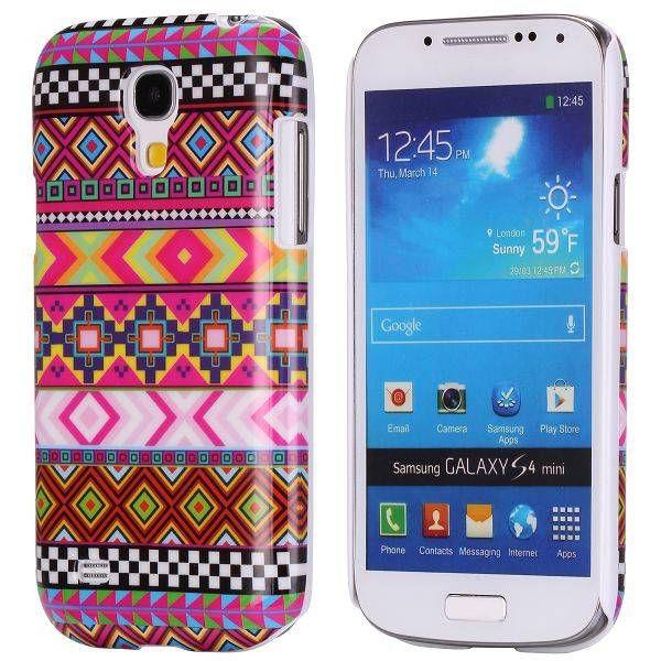 Kleurrijk indianen hoesje Samsung Galaxy S4 mini