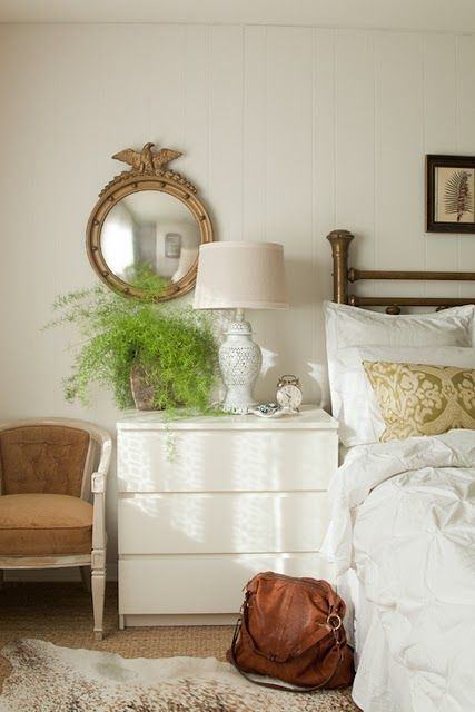 beautiful! esp. with IKEA dressers as bedside tables!