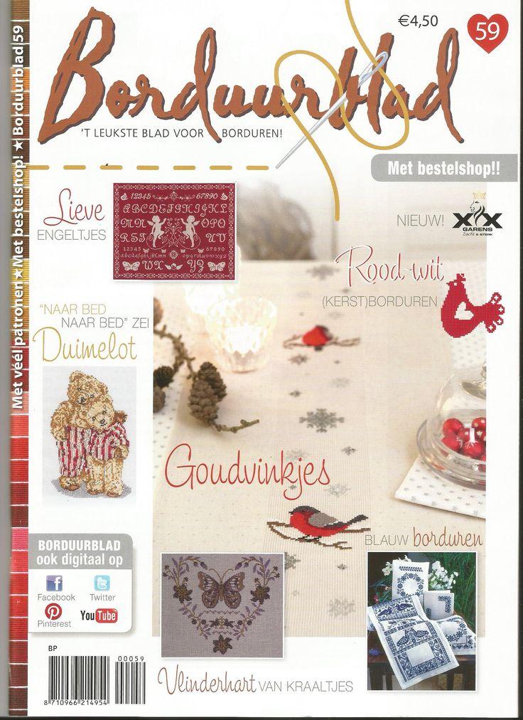 Borduurblad 59 Dutch cross stitch magazine