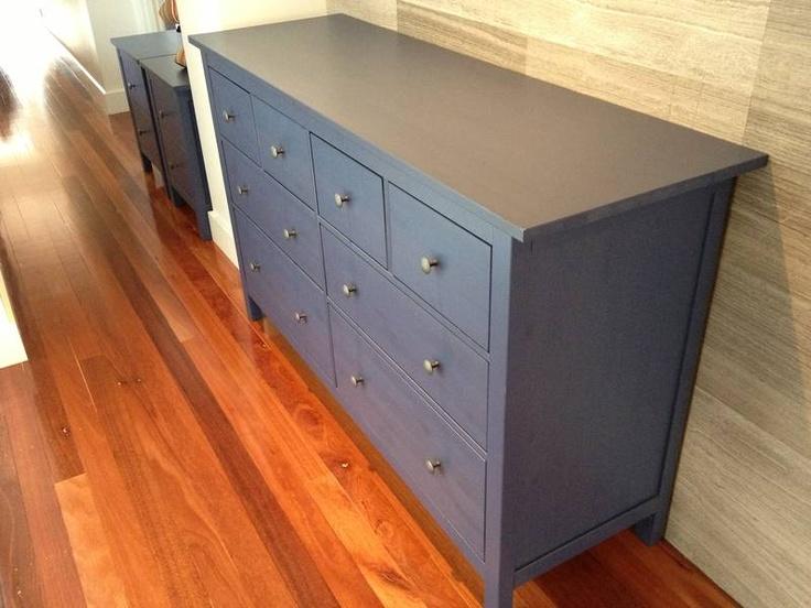 Ikea Värde Unterschrank Maße ~ Ikea Hemnes Blue 2 x Chest of 2 drawers & Chest of 8 drawers Norwood
