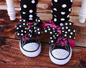 Cristal Swarovski joyas zapatos para niños por MReeseDesigns