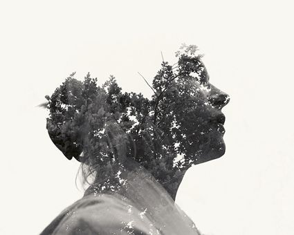 Christoffer Relander - Photo idea where kids take black and white photo, trace and cut out a silhouette