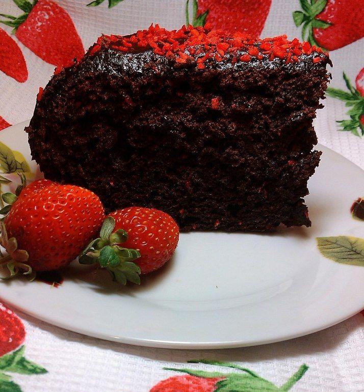 Шоколадный кекс в мультиварке Philips HD 3077/40