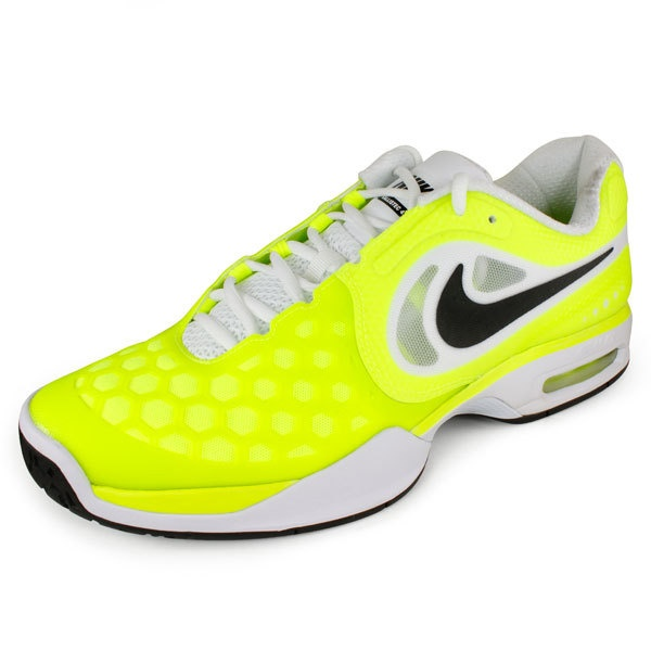 8019b5efe476 Men`s Air Max Courtballistec 4.3 Tennis Shoes VoltWhiteBlack cool shoes  Pinterest Tiffanys