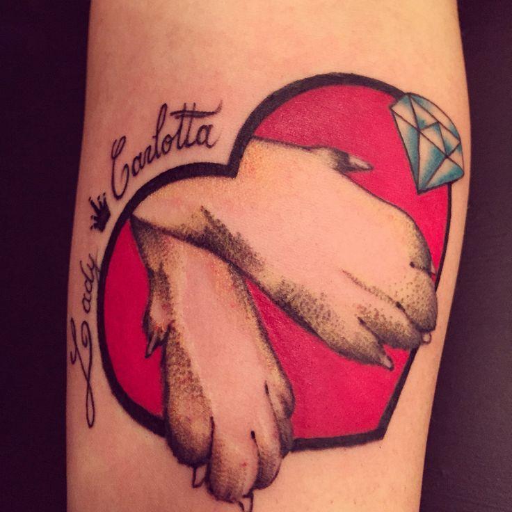 My lady #tagsforlikes #picoftheday #tattoo #tattoing #tattoer #derprinztattoer #tattoedgirl #tattoedman #tattoomilano #tatuaggi #tatuaggio #traditional #tattooblack #tattoocolor #derprinz