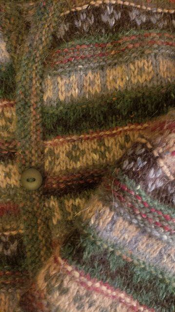 Ravelry: Kingstonhouse's Jane's fairisle cardigan rowan felted tweed