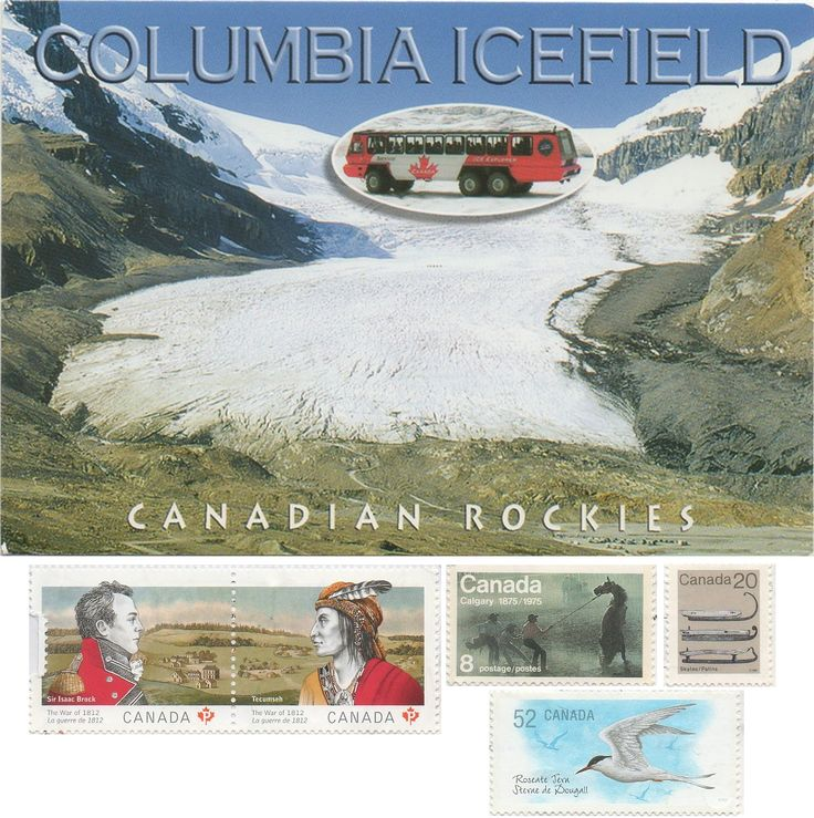 CAN-2563 - Arrived: 2017.08.14   ---   The Athabasca Glacier is one of the six principal 'toes' of the Columbia Icefield, located in the Canadian Rockies. The glacier currently recedes at a rate of about 5 metres  per year and has receded more than 1.5 km and lost over half of its volume in the past 125 years. Easily accessible, it is the most visited glacier in North America. The leading edge of the glacier is within easy walking distance.