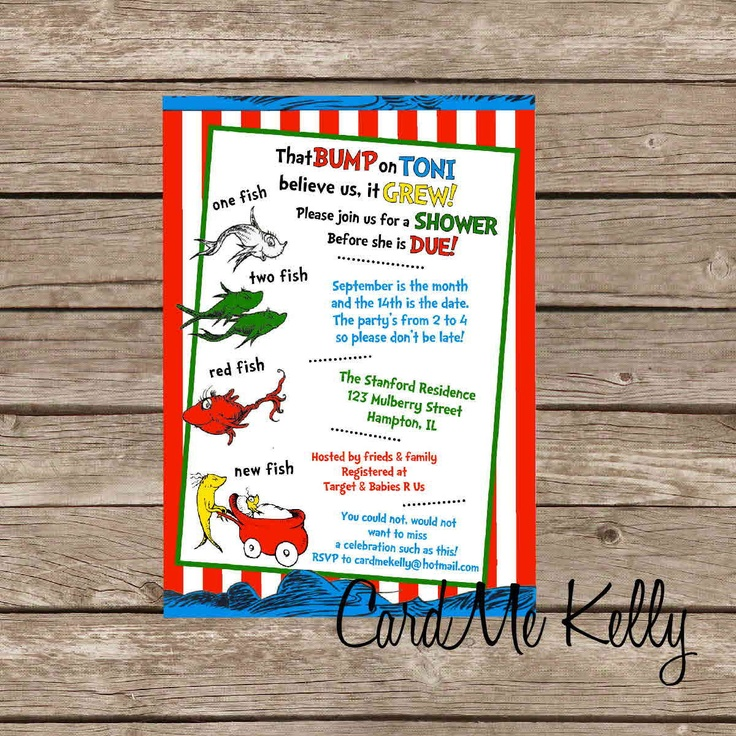 Fish Themed Baby Shower Invitations: 17 Best Images About Katie's Baby Shower On Pinterest