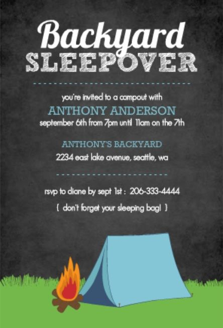 Slumber parties are always a big hit with children, but during the summer, nothing beats a backyard camp out with their closest friends. Once you've extended the invitations, set up camp and had plenty to eat, it's time to let the games begin! Check out these backyard camp out ideas for planning a spectacular outdoor celebration.