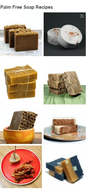 awesome Palm Free Soap Recipes