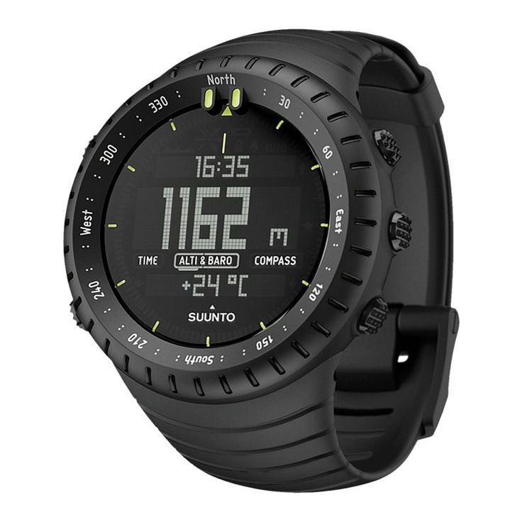 SUUNTO - Core All Black Military - Watch, chrono, altimetre, barometre, boussole,  329.99, (1000×1000)