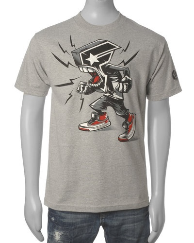 Famous Stars & Straps T-skjorte (Grey) - Smartguy.no - $160nok