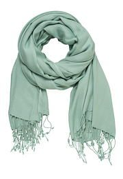 solid scarf with fringe in frozen lake - maurices.com. More greyed, more muted!
