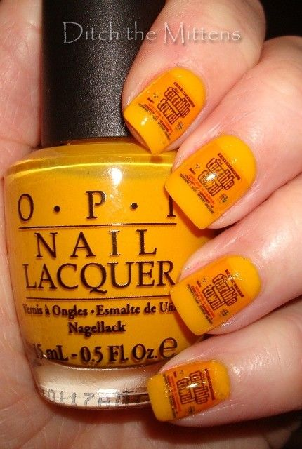 I LOVE IT!!!!  Thanks OPI for Steeler Yellow!!!!
