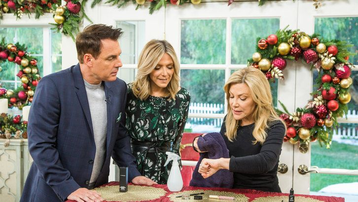 "Actress Jessy Schram from the Hallmark Channel original movie ""A Royal New Year's Eve""; actor Ser'Darius Blain talks about ""Jumanji: Welcome to the Jungle""; chef Simon Majumdar cooks Georgian stuffed eggplant rolls."