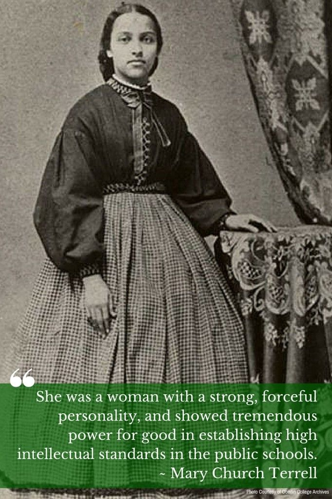 In 1862, Mary Jane Patterson became the first African-American woman to receive a BA degree when she graduated from Oberlin College #womenshistory #BlackHistoryMonth