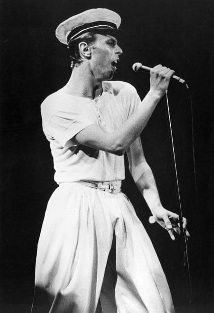 15 June 1978:  David Bowie plays the City Hall Newcastle
