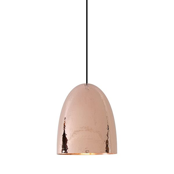 Stanley 3 Copper Pendant - Hammered Finish