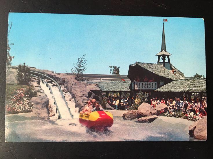 Vintage Disneyland Tomorrowland Postcard - Matterhorn Bobsled Run - Matterhorn Mountain by VintageDisneyana on Etsy