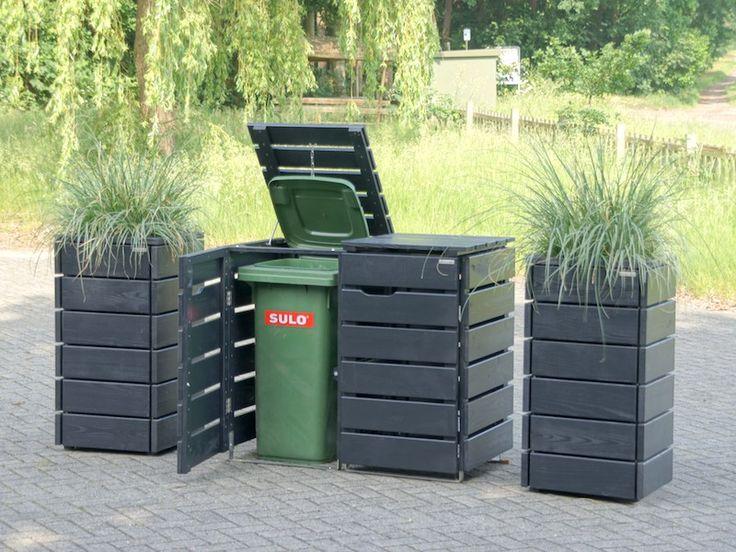 Die 25+ Besten Ideen Zu Mülltonnen Verstecken Auf Pinterest   Ac ... Muelltonnenbox Selber Bauen Ideen Gestaltung