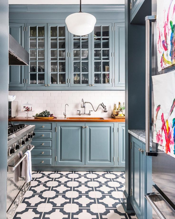 "1,576 Likes, 12 Comments - One Kings Lane (@onekingslane) on Instagram: ""Does anyone else see this dream of a kitchen and immediately plan the gourmet feasts you could cook…"""