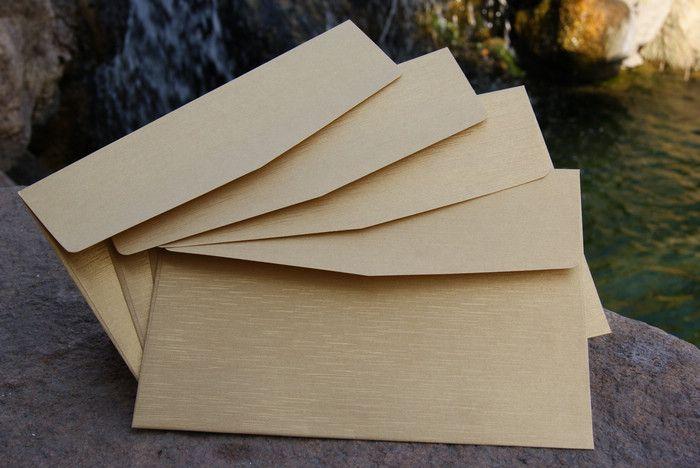 Золотые свадебной церемонии приглашения конверты долго квадратных высококлассные бизнес поздравительные открытки приглашения пригласительные конверты 195 * 135- Taobao