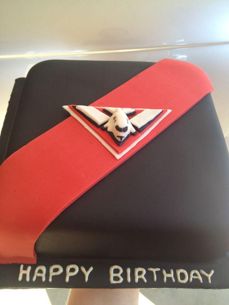 Bombers fan cake