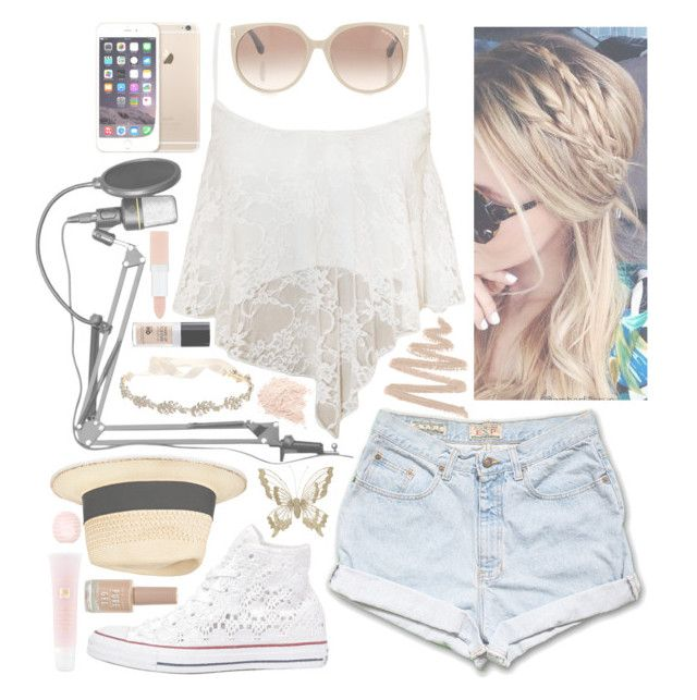 """""""Covering 18 by One Direction//Cassidi"""" by just-another-typical-fangirl ❤ liked on Polyvore featuring WearAll, Converse, Eugenia Kim, Marchesa, Tom Ford, New Look, MAKE UP FOR EVER, Lancôme, Rimmel and Topshop"""