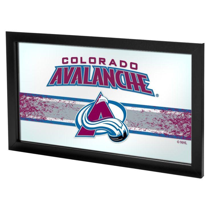 NHL Colorado Avalanche Framed Logo Mirror