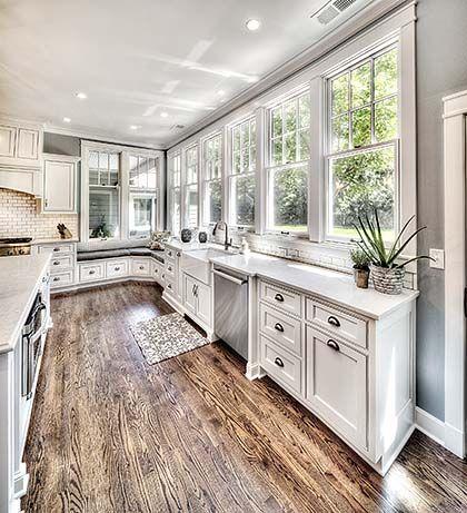 Kitchen Addition Window Wall