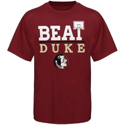 Florida State Seminoles (FSU) Basketball Beat Duke T-Shirt - Garnet
