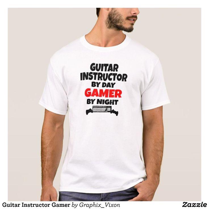 Guitar Instructor Gamer T-Shirt