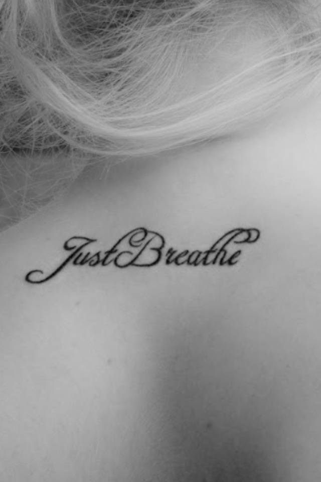 Cystic fibrosis motto tattoo .. If I were to ever get a tattoo... would love this! :)