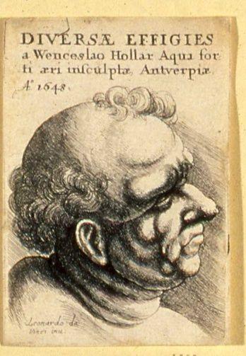 Wenceslaus Hollar (1607-1677) - Title-page 1648 - Diversae Effigies