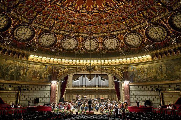Romanian Atheneum-interior