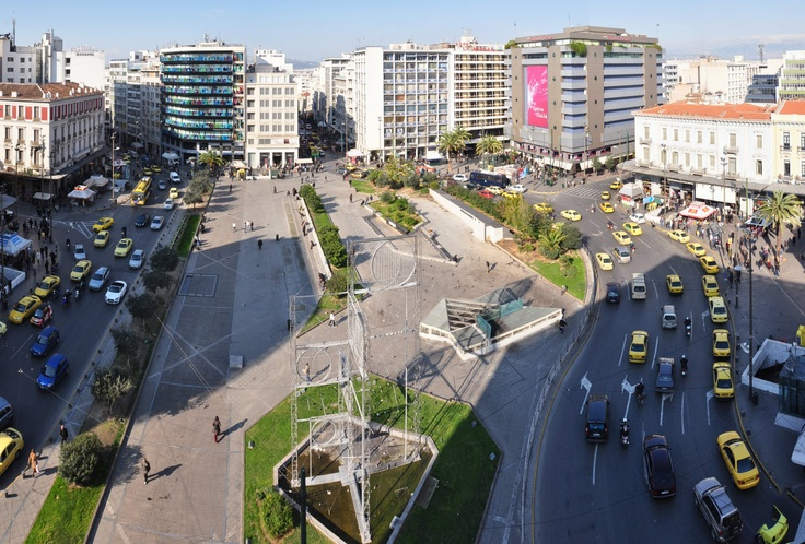 Omonoia Square  #opticametaxas