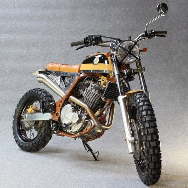 megadeluxe:Yako's Bekano. (Via the Bike Shed). #Motorcycle #scrambler #motorsports #megadeluxe #tw