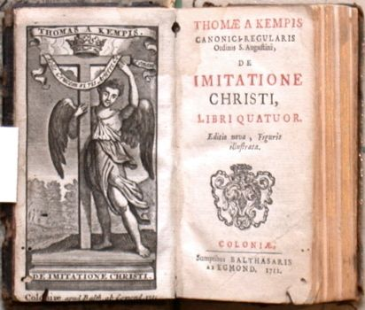 Thomae a Kempis De imitatione Christi