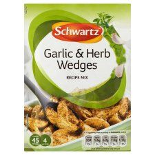 Schwartz Potato Wedge Garlic and Herb Mix 38g