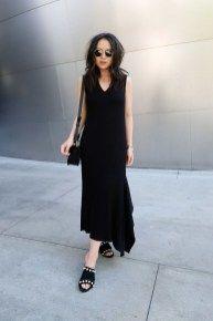 45 beliebte Sommer-Outfit-Ideen mit schwarzen Ebenen