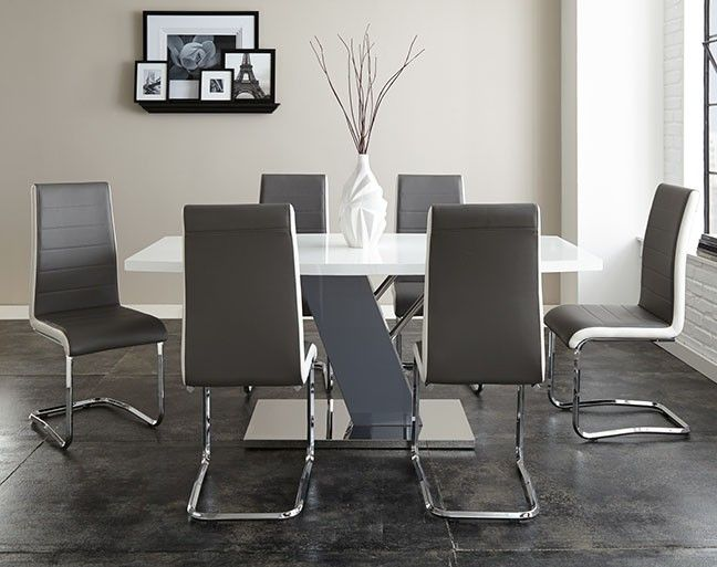 Steve Silver 7 Piece Nevada Dining Table Set