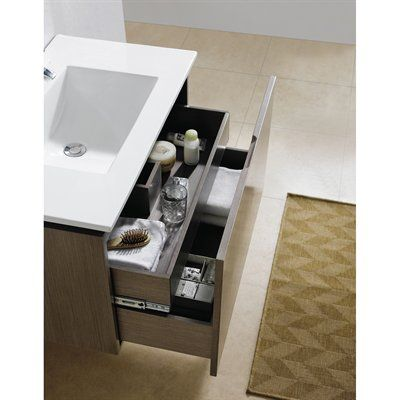 Fine Fixtures LE24 Lexington Vanity With Vitreous China Sink Top