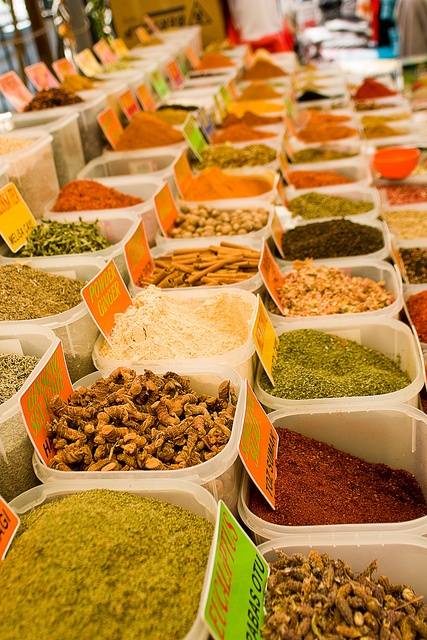 Bodrum, Turkey - I want to visit all the souks, markets and spice stalls in this part of the world, and take pictures!