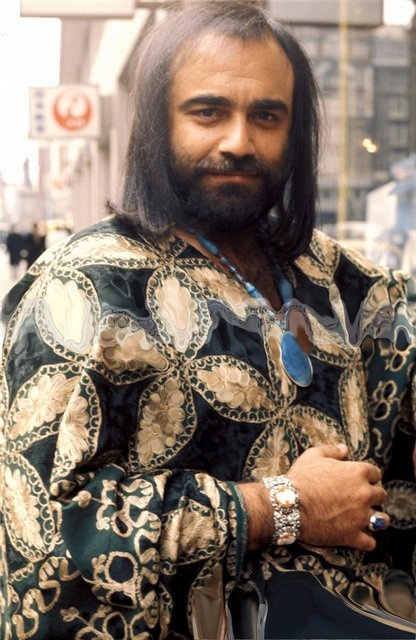 Demis Roussos: childhood music nightmare. | Fun Board | Pinterest | My mom, Mom and The o'jays