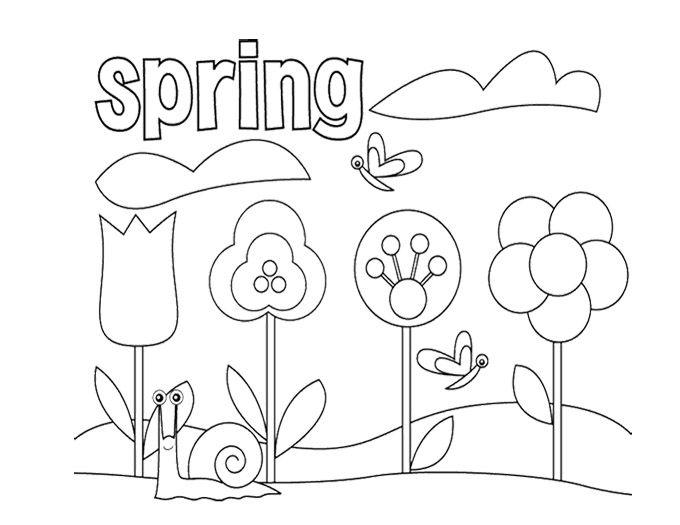 April Coloring Pages Preschool : Preschool april coloring pages murderthestout