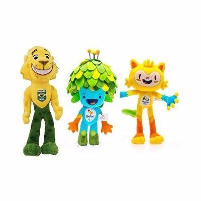 (1) Mascote Tom, Vinícius E Ginga Olimpíadas Rio 2016 - 30cm - R$ 169,90 em Mercado Livre