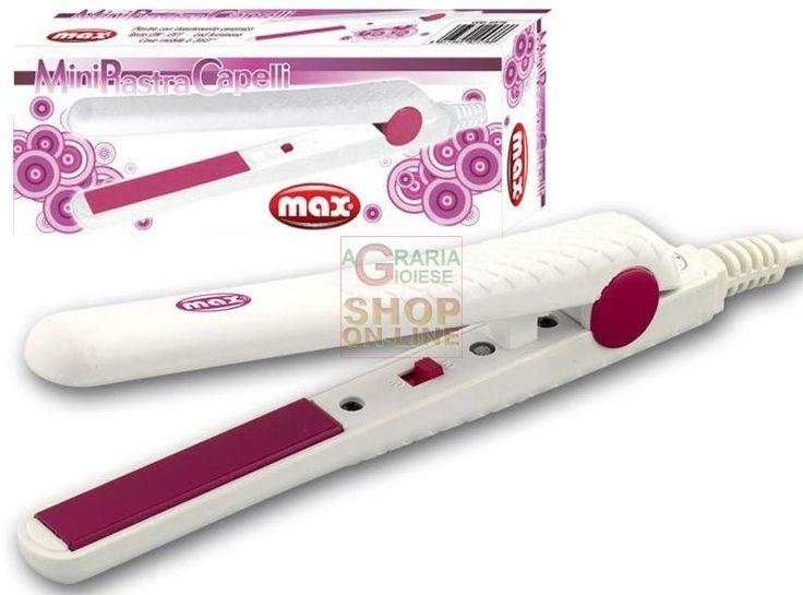 MAX MINI PIASTRA PER CAPELLI IN DISPLAY http://www.decariashop.it/max/10650-max-mini-piastra-per-capelli-in-display-8017365025786.html