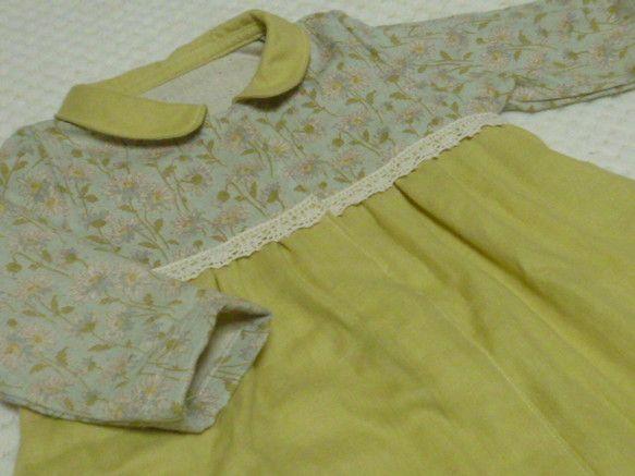 Wガーゼのベビードレス*ライトグリーン★70cm★をご覧頂ありがとうございます。赤ちゃんの肌に優しいWガーゼでベビードレスを作りました。厚手のWガーゼで製作し...|ハンドメイド、手作り、手仕事品の通販・販売・購入ならCreema。