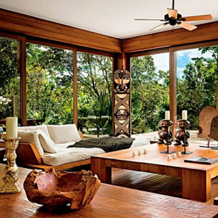 African Style Living Room Decor Ideas